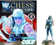 DC Chess Figurine Collection #42 Captain Cold Black Pawn Justice League Eaglemoss